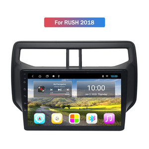 2G RAM TOYOTA RUSH 2018 Araba DVD Radyo OYUNCU Multimedya Navigasyon GPS için 10.1 inç Android 10