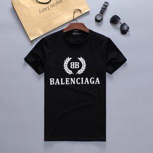 2020 Nouvelle marque de mode Designer T-shirt des hommes T-shirt Sport Tide Vêtements T-shirt Hip Hop Harajuku Imprimer T-shirt Casual hommes shirt