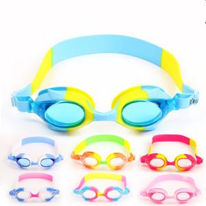 Vendita Calda Bambini Confortevole Silicone Swim Occhiali Anti Fog Racing Protezione Eye Swim Occhiali Professionale Arena Racin Impermeabile Swim Eyewear