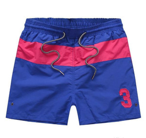 polo men ralph t shirt gli uomini di polo ralph Ralph polo camicie da uomo degli uomini di colore solido casuale dei pantaloni per il progettista Beach Shorts nuova fashion9NMJ