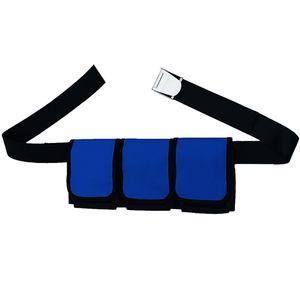 Adulto Scuba Peso Cinturones de deportes acuáticos de cintura con 3/4/5 Bolsillos para buceo snorkel