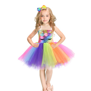 Hot Sale Halloween & Christmas Princess Dresses Baby Girls Ball Gown Tutu Lace Dresses Kids Wedding Dresses Party Costumes for Children
