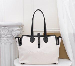 Yeni stil kadın çantaları lüks tasarımcı bayan handbags'in tuval deri seyahat alışveriş torbaları anne paket kese çanta taşımak