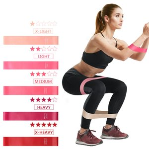 Training Fitness Gum Resistance Bands Set Exercise Gym Strength Pilates Sport Rubber Fitness Bands Crossfit Workout Equipment
