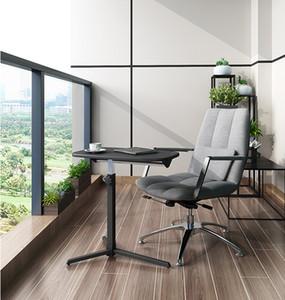 bureau mobile pliable Canapé Table d'appoint réglable pour ordinateur portable Bureau Table de chevet peut être levée Bureau permanent Bureau Meublé