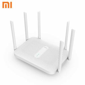 Xiaomi Redmi AC2100 маршрутизатор гигабитный двухдиапазонный беспроводной маршрутизатор Wifi ретранслятор с 6 антеннами с высоким коэффициентом усиления более широкий охват Простая настройка