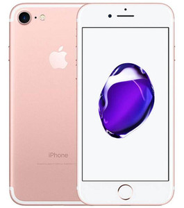 A Apple iPhone original 7 7 Plus sem toque ID de 32GB 128GB IOS12 12.0MP Home Button Trabalho Recuperado Desbloqueado Mobile Phone