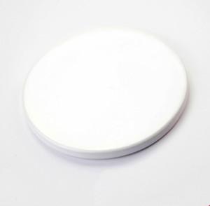 Sublimation Blank Coaster bricolage en céramique haute qualité de cadeau blanc Dessous de verre en céramique de transfert de chaleur d'impression A02 Coaster personnalisé