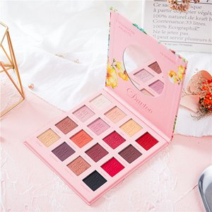 Hot Matte 16 colors Eye Shadow Palette Mylife Personality Mashed Potato Eye Shadow Newest Multicolor Eye Beauty