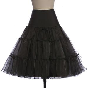 Saias para mulheres saia tutu Silps balanço Rockabilly Petticoat underskirt Crinoline macio Pettiskirt Para Vintage nupcial Mulheres vestido de baile