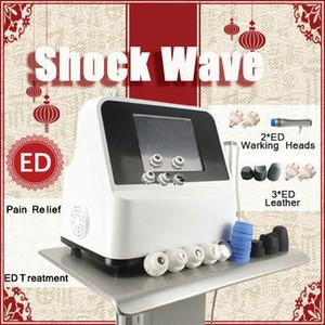 Mais quente Portátil Pneumático Onda de Choque Equipamentos de Fisioterapia Onda de Ondas de Choque Para Weigh Loss Máquina de Alívio Da Dor