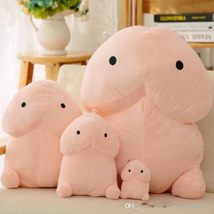 50cm popular spoofing creative cute stuffed toy dingding pillow to give a girlfriend to give vent to pinching toys