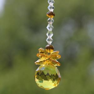 1pcs K9 Crystal Ball Suncatcher Feng Shui Prisms Pendulum Hanging Glass Window Decor 20mm 30mm 40m WQM188