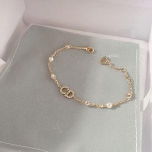 يبيع! الأزياء كريستال CD سوار سوار جودة عالية الكلاسيكية فاخر مصمم مجوهرات سيدة C رسالة مجوهرات التغليف الأصلي