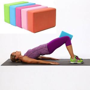 EVA Esneme Yoga Spor Blok Köpük Tuğla Spor Pilates Gym Egzersiz Egzersiz