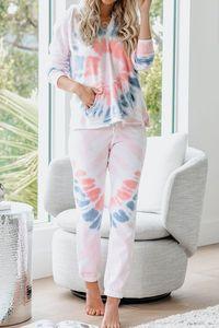 Top Quality Para Pijama Tiedye para a menina Pigiama Da Donna Por Girocollo Tye Dye Curto roxo Luz Grateful Dead Tie Dye shirt sweet07 UqOpl