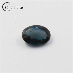 6мм*8мм 1.2 карат натуральный драгоценный камень сапфир из Китая 100% натуральный Сапфир драгоценный камень россыпью для ювелирных изделий DIY