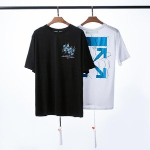 20ss Frühling Luxus Männer und Design der Frauen Marke T-Shirt Sommer-Hip-Hop-Mode für Männer Kurzarm T-Shirts Unisex Tops lässigen T-Shirt q7