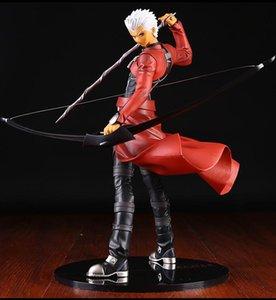 25cm animado japonés Saber Alter Fate Stay Night Archer Hoja 1/7 escala de PVC Figuras de Acción Juguetes Colección modelo Brinquedos