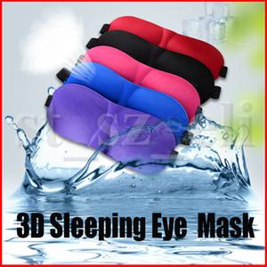 3D Uyku Maskesi Doğal Uyku Göz Maskesi Siperliği Kapak Gölge Göz Yama Kadın Erkek Yumuşak Taşınabilir Körü Körüne Seyahat Eyepatch