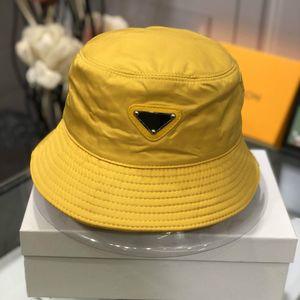 new design leather letter bucket hat designer hats men womens folding hat black fisherman beach visor sales folding bowler hat