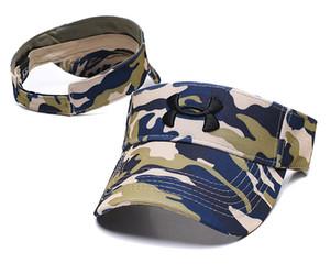 2019 nuovo designer golf polo cappello parasole visiera cappello da sole cappelli da baseball cappello sportivo protezione solare cappello da spiaggia cappelli elastici tappo superiore vuoto
