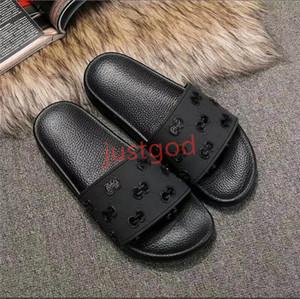 Gucci 2020 erkek ve kadın moda rahat terlik erkek ve baskılı girlsflowered çiçekli sandalet erkek ve kadın genel açık hococal