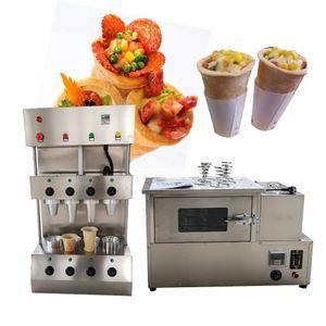 popular snack equipment cone pizza machine mini cup shaped cone pizza maker customize cups shape cone machine 110v 220v