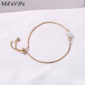 MiFaViPa Einfache Kristall Opal Stern-Armband weiblichen koreanischen einfachen Studenten- Mori Freundin Armband-Geschenk
