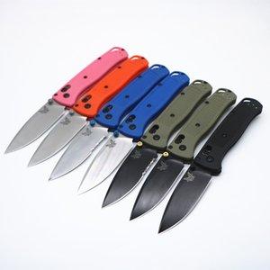 benchmade 535 Polymer fibra di nylon tattico difesa pieghevole lama di tasca di EDC Collection campeggio coltelli da caccia natale regalo JULI