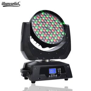 108x3W RGBW (4 in1) LED Moving Head Wash Strahlbühnenscheinwerfer Spotlight DMX512 für Weihnachten, Geburtstag, Hochzeit Partei-Licht