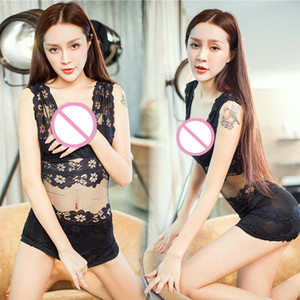 Variété des pantalons de femmes sexy bikini de dentelle de sous-vêtements jarretelle noir et blanc sexy lingerie ensemble