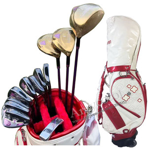Le nuove donne Golf Club Maruman Maestà Prestigio 9 club set completi Golf drive Fairway Wood Putter ferri L Flex Graphite Golf albero