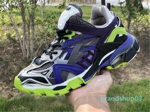 liberação Ne Track.2 sapatilha Clunky sapatos das mulheres dos homens da sapatilha Triplo Shoes Designer Casual Shoe Melhor qualidade, com C03 caixa original