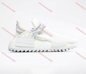 Xshfbcl 2020 NMD Human Race Mens Casual Shoes Williams Sample Yellow Core Black Sport progettista Shoes Women Sneakers 36-47
