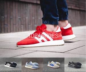 vente en gros chaussures de course Iniki Runner pour hommes femmes Real Top qualité original noir Runner Designer Sport Sneakers adidas