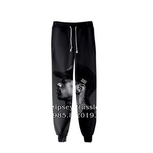 nipsey hussle Jogger Pants Spring Teenager School Sports Casual R.I.P Pencil Pants Printed Designer Mens 3D