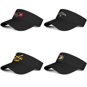 New York armée noir Chevaliers football logo Unisexe baseball tennis chapeau conception vous-même de mode unique cap 1st cavalerie Division mot-symbole
