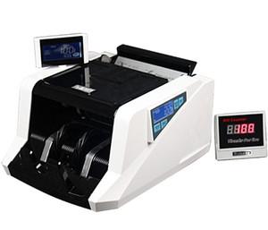 عدادات الأوراق النقدية المال مكافحة النقدية 168UV / MG التلقائي للأشعة فوق البنفسجية / كشف MG مناسبة لمعظم أنواع العملات من اذونات انقر نقرا مزدوجا الملاحظات كشف