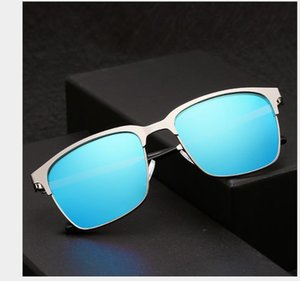 Men's Polarized Sunglasses Anti-ultraviolet Metal Retro Sunglasses