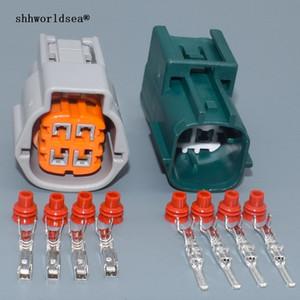 shhworldsea 4 Pin 6181-0513 6189-7757 impermeabile ossigeno O2 Sensor Plug Donna Uomo connettori automobilistici Socket legare per auto