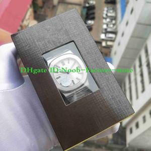 Yeni PFF sürüm Otomatik Cal. 324 S C Hareketi 40mm Paslanmaz Çelik Zarif Serisi 5711 / 1A-011 Beyaz Kadran Izle Erkekler Süper-LumiNova Aydınlık