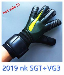 عرض ساخن !!! NK Sports Gloves SGT + VG3 Breatherable حارس المرمى قفازات 4MM الاتصال اللاتكس عدم الانزلاق قفازات حارس المرمى Luva De Goleiro بالجملة