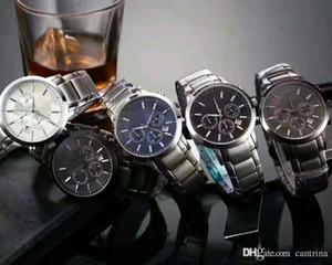 Clásica para hombre de lujo vendedor caliente de la fábrica nuevo Top AR2434 AR2448 AR2454 AR2453 AR11047 acero inoxidable del reloj de los hombres del reloj original gota de la caja S