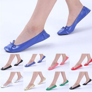 Ladies Flats Foldable Portable Travel Ballet Flat Slippers Shoes Dance Party Shoes Calcados Feminino Zapatos Mujer 2019 #10