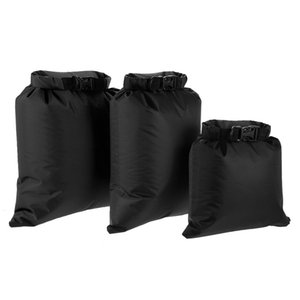 Lixada New Pack of 3 Waterproof Bag 3L+5L+8L Outdoor Ultralight Dry Sacks for Camping Hiking Traveling Bag Water sports