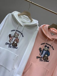 New Arrival Womens Designer Hoodie Dresses Fashion Brand Hoodies High Quality Luxury Women Dresses with Hooded 2 Colors Size S-L YF203052
