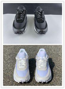 Новые оптовые вафельный белого нейлон рассвет LDV мужчины работают обуви спортивных женских кроссовок низких наружные тренеров женщина с размером коробки 36-46