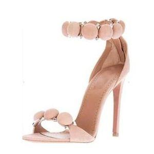 Fashion2019 Boca Pez Zapatos de mujer Finos con un solo zapato Mujer Anillo de vendaje