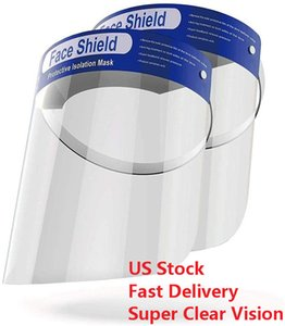 Fast Delivery Faceshield Protective Face Shield Anti Splash and Saliva Clear Film Protect Face and Eyes
